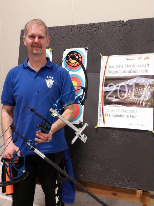 Bogenschütze des TSV Lindewitt nimmt an Deutscher Meisterschaft teil