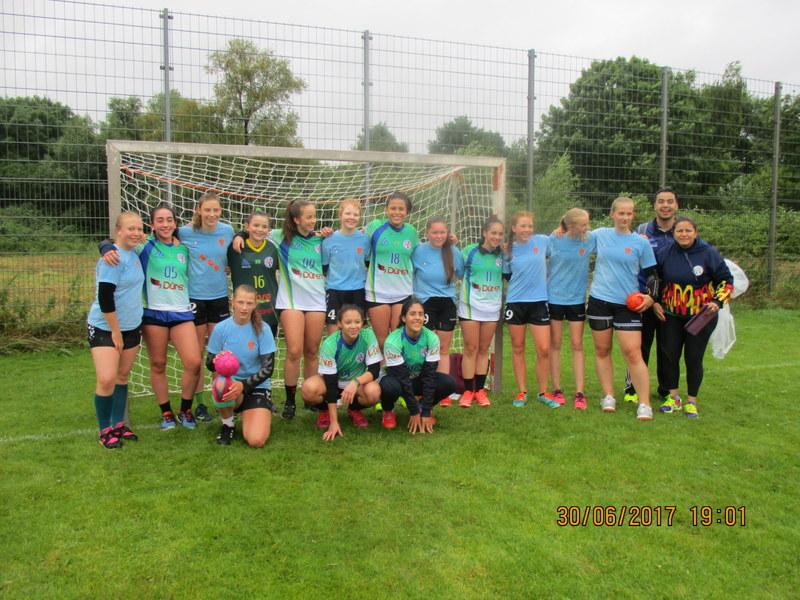 Junge Handballer auf den Lübecker Handballtagen 2017