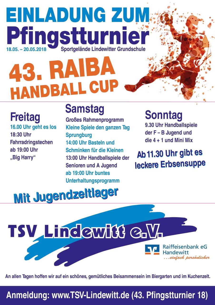 Raiba-Cup 2018 Pfingstturnier